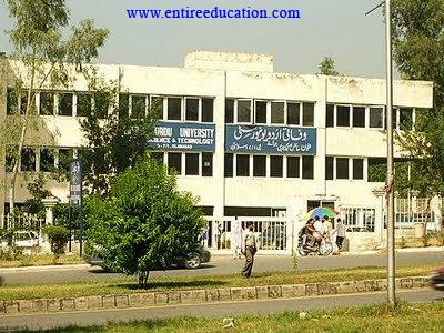 Federal Urdu University Islamabad Admissions