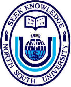 North South University Logo (Top 10 Universities in Bangladesh)