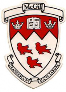 McGill University Logo (Top 10 Universities in Canada)