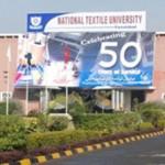 National Textile University Karachi Admission 2019 Last date