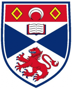 University of St Andrews Logo (Top 10 Universities in Scotland)