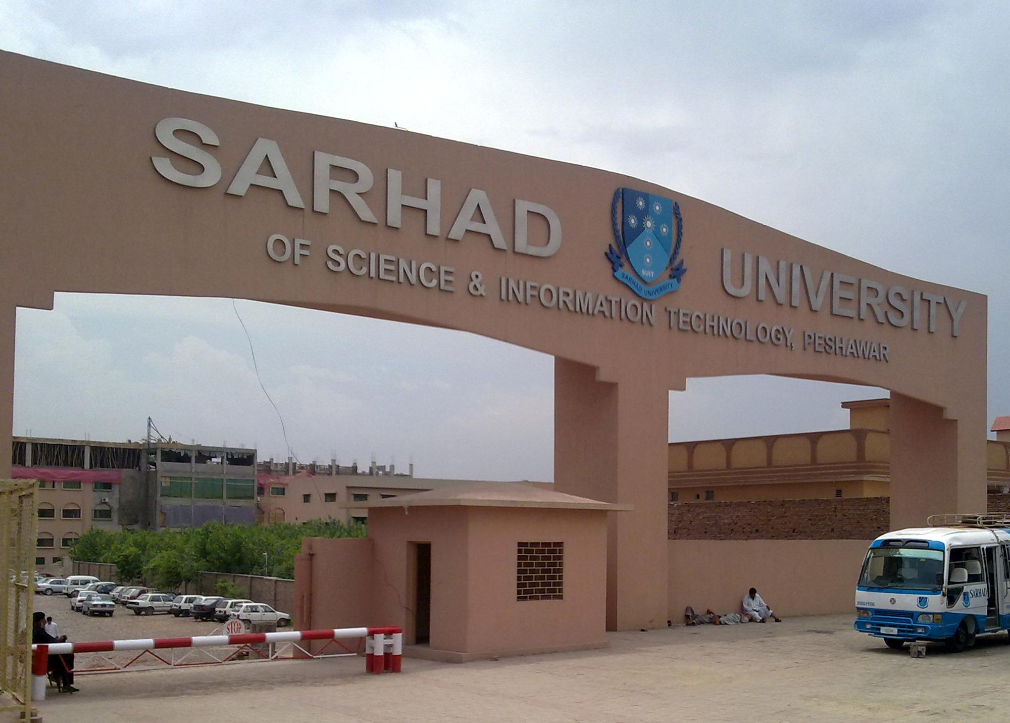Sarhad University Peshawar Admission 2019 Last Date Eligibility, Form