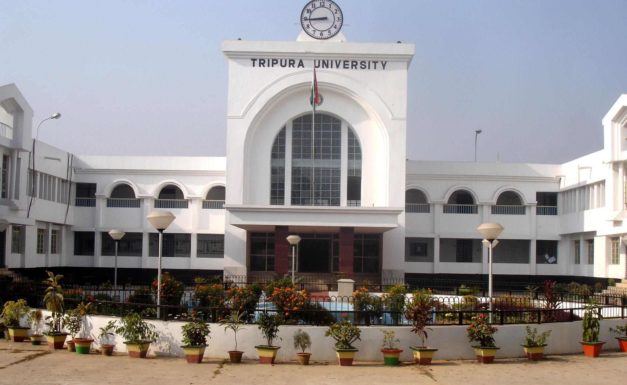 Tripura University Admission