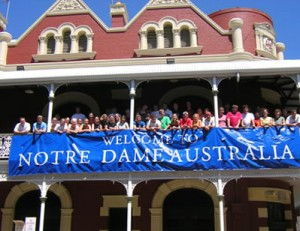 University of Notre Dame Australia Admission