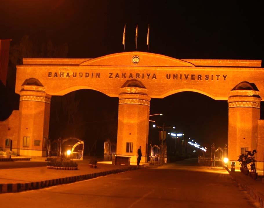 BZU Multan Admission 2018 Last Date Eligiblity, Fee sTRCUTRE