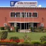 National Textile University Faisalabad Admission
