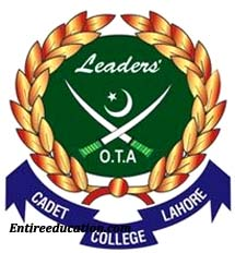 Cadet College Lahore Entry Test Result
