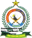 PCSC Murree Entry Test Results