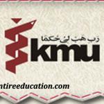 Khyber Medical University Peshawar Admission