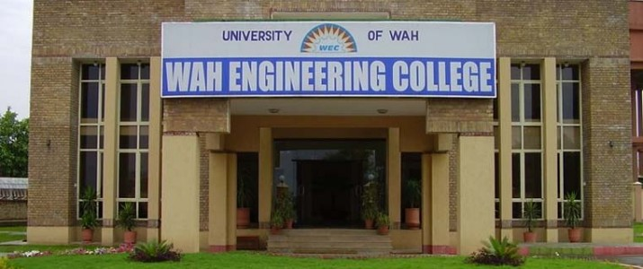 Wah Engineering College Admission