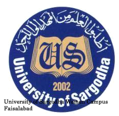 University Of Sargodha Women Campus Faisalabad Admission