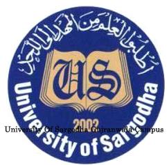 University Of Sargodha Gujranwala Campus Admission