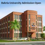Bahria University Lahore Campus Admission