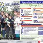 Bahria University Lahore Campus Admission