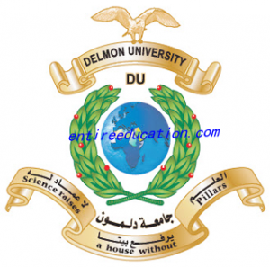 Delmon University for Science and Technology Logo