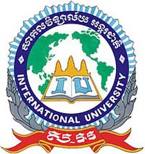International University Cambodia Logo