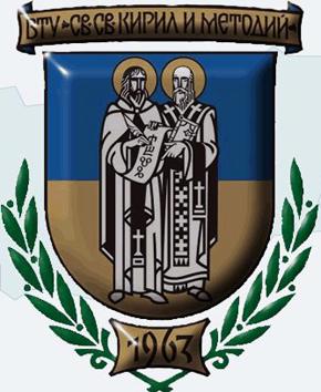 Veliko Tarnovo University logo