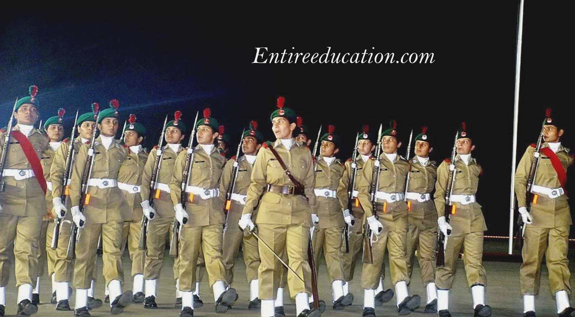 Pak Army Lady Pics: Join Pakistan Army As Captain Female 2018