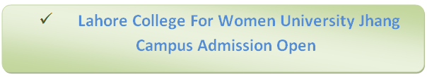LCWU Jhang Campus Admission
