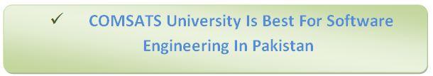 Software Engineering In Comsats University
