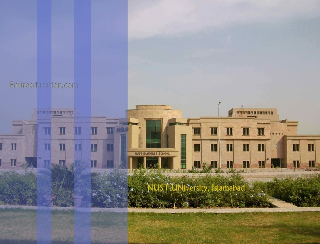Mechanical Engineering In NUST University Islamabad