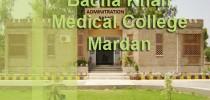 Bacha Khan Medical College Mardan Admissions