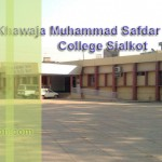 Khawaja Muhammad Safdar Medical College Sialkot Admission 2018 Last date