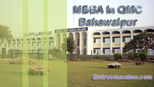 Quaid-E-Azam Medical College Bahawalpur Admissions