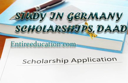 Get International Scholarships 2018 For Pakistani Students in Germany