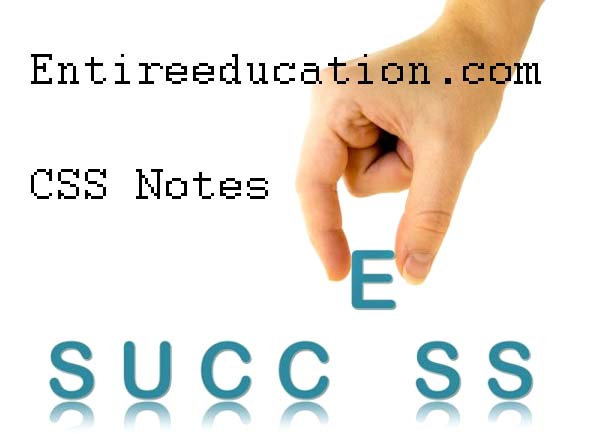 How To Get CSS Current Affairs Notes For Preparation