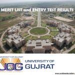 University of Gujrat UOG Merit List and Entry Test Results for Spring Admissions 2018