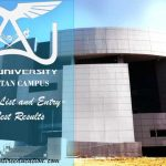 Air University Multan Merit List and Entry Test Results for admissions 2018