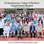 De'Montmorency College of Dentistry Lahore Admission 2018 Last Date