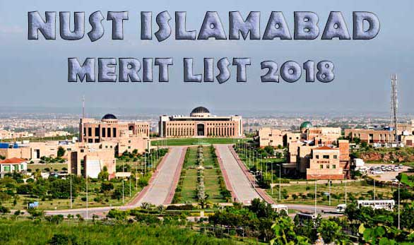 NUST Merit List 2018 For NET-1 Entry Test Results 2018