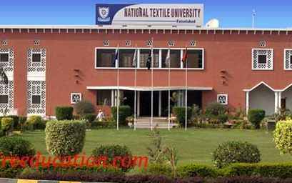 National Textile University Faisalabad Admission 2018 Last date, Fee Structure