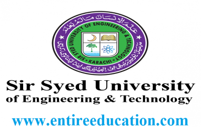 Sir Syed University Admission 2018 Last date (SSUET), Fee Structure
