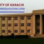 Karachi University Merit List 2019 for UOK Entry Test Result