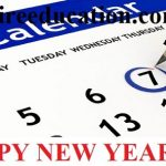Educational Calendar For New Year 2018 For Pakistani Students