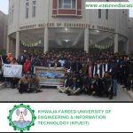 Khawaja Fareed University of Engineering & Information Technology KFUEIT Merit List 2018