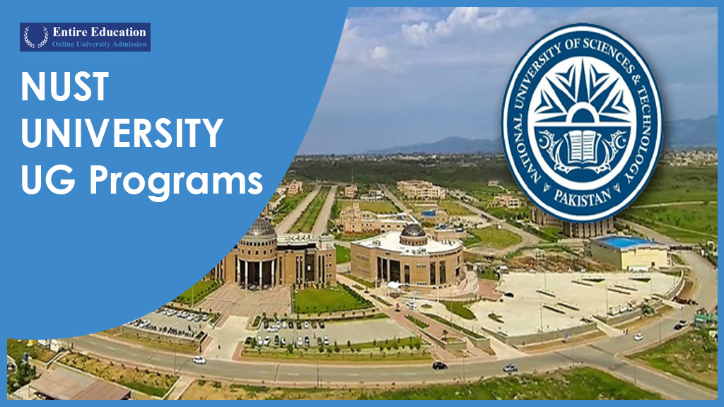 Admission in NUST Undergraduate Programs 2019 After Intermediate for Students