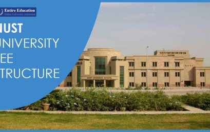NUST University Fee Structure 2018 For Undergraduate, Graduate And PhD