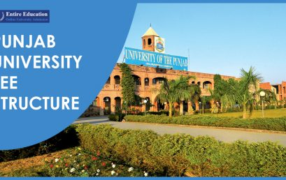 Punjab University Fee Structure 2018 For Undergraduate BS, Masters MS, PhD